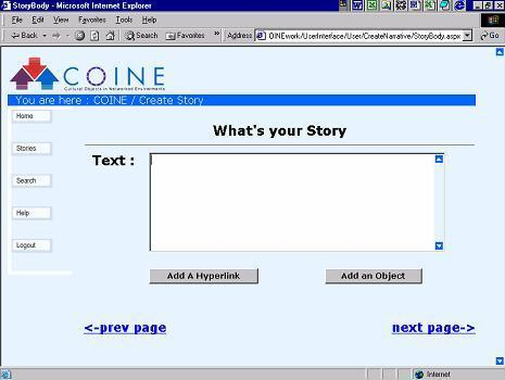 screenshot24(KB) :Figure 3: What's your story?