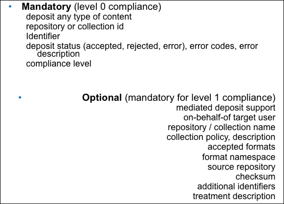 diagram (81KB) : Figure 5 : Parameters and levels of compliance