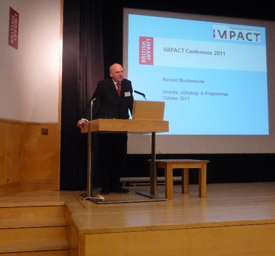 Richard Boulderstone, Director, e-Strategy and Information Systems, British Library provides an overview of BL's digitisation work to date.