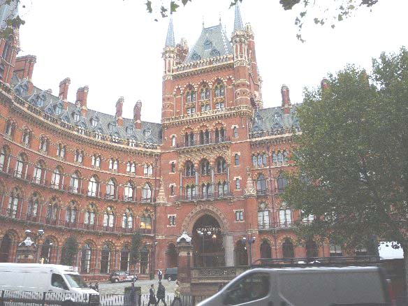 Richard Boulderstone recommended a look at the newly refurbished St Pancras Railway Station.