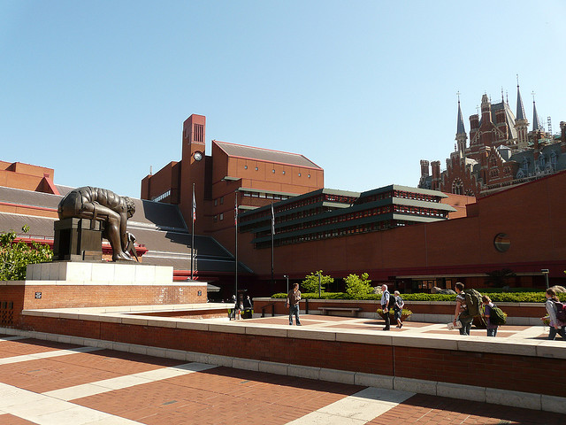 The British Library. Photo by Emily Barney